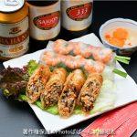 ベトナム料理「生春巻きと揚げ春巻き」