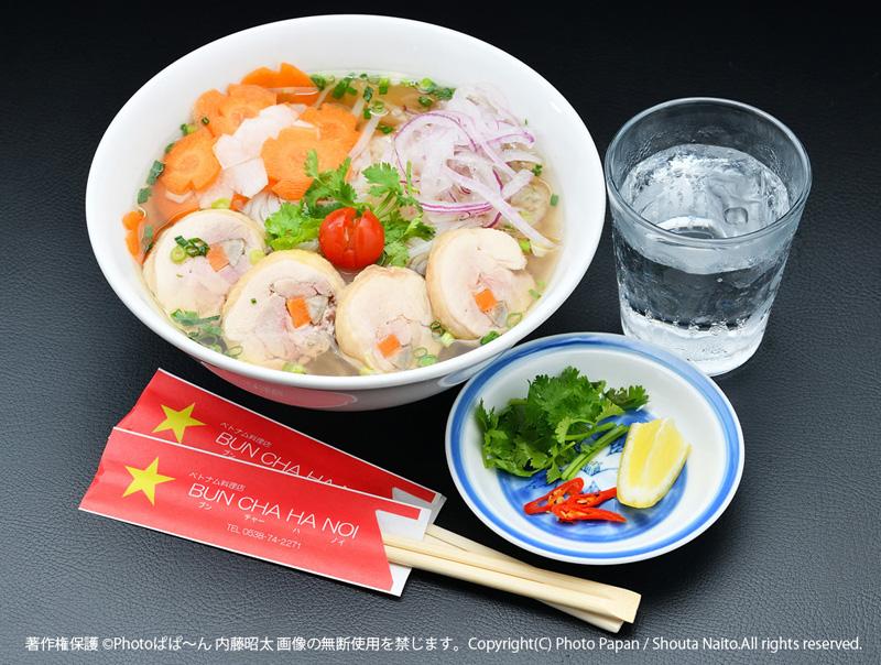 ベトナム料理「鶏肉のフォー」