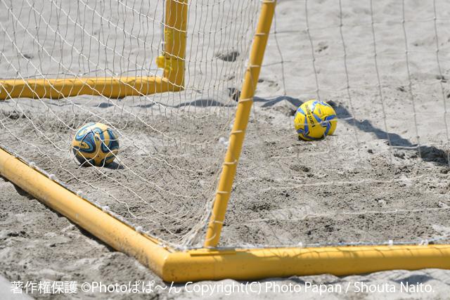 ビーチサッカーのボール