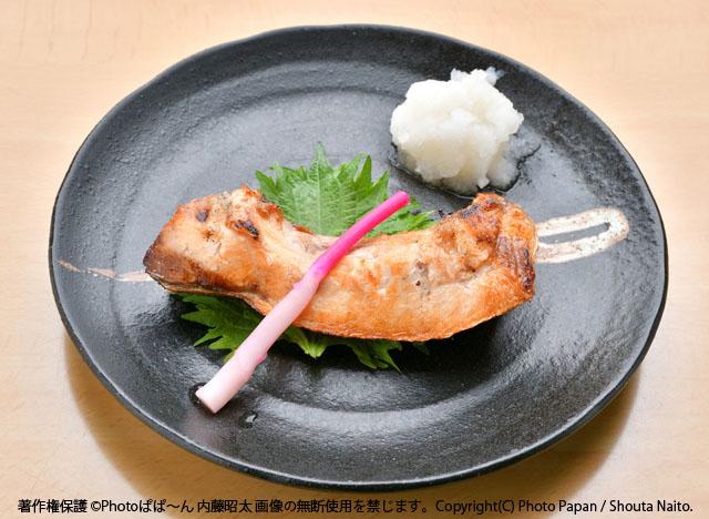一品料理、お寿司屋さんのカマ焼き