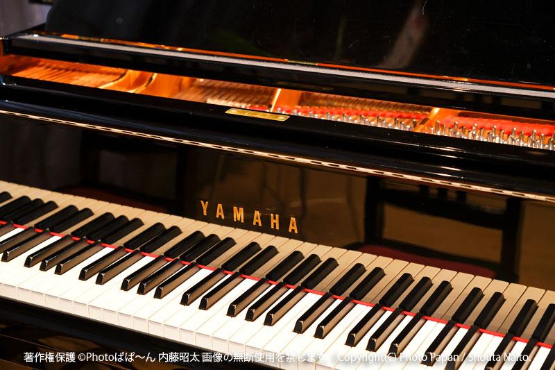 ピアノ教室の音楽演奏発表会の写真撮影、ピアノイメージ。