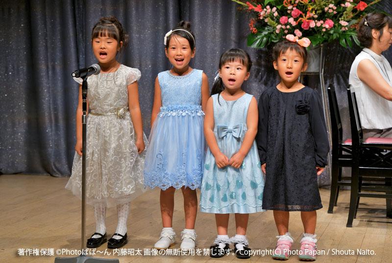 浜松市クリート浜松での、ピアノ教室の音楽演奏発表会の写真撮影