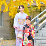 七五三の出長写真撮影、浜松市の五社神社・諏訪神社